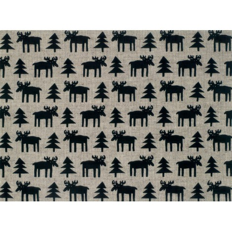 Table mats Moose 2-set