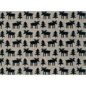 Table mats Moose 2-set