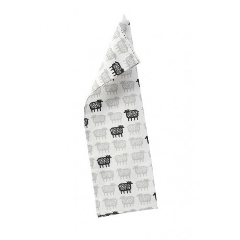 Kitchen towel Black sheep