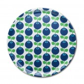 Round tray Blueberry