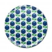 Round tray Blueberry