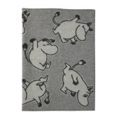 Wool Baby blanket Happy Moomin