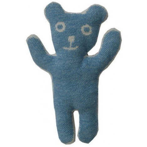 Cuddly toy Bruno blue