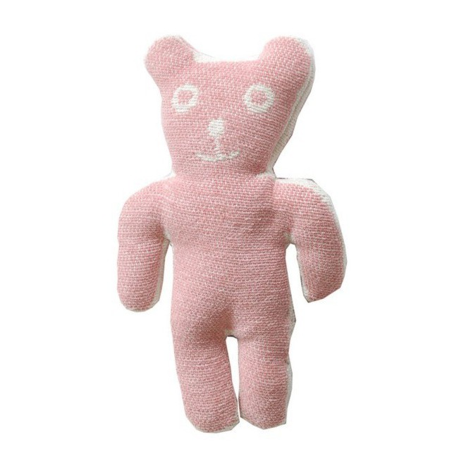 Cuddly toy Bruno pink