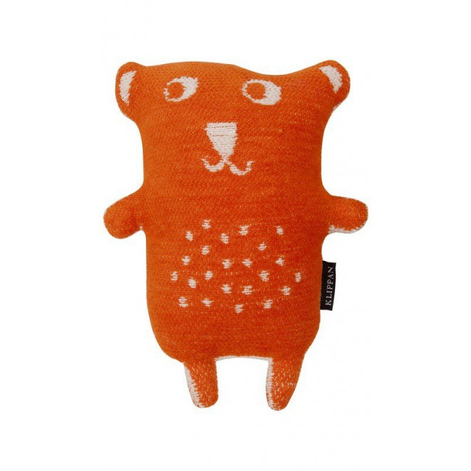 Cuddly toy Little Bear orange