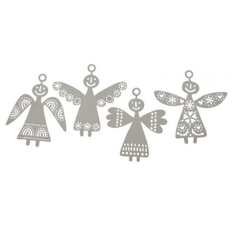 Sada závěsných dekorací The Angels 2015