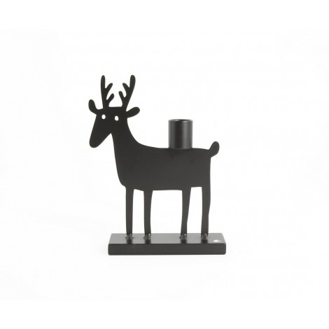 Candle holder Roe deer