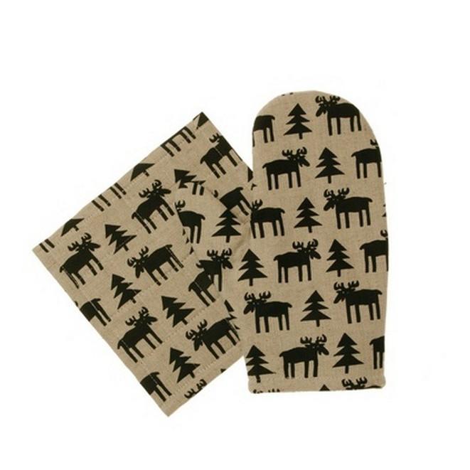 Oven glove Moose