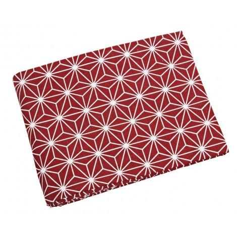 Bavlněný ubrus Linjer červený