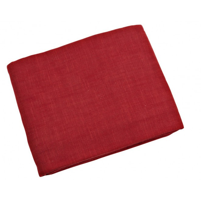 Bavlněný ubrus Max červený