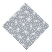 Cotton napkin Linjer grey