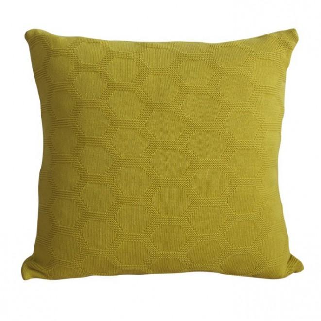 Polštář Hedris žlutý