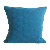 Knitted cushion Hedris petrol