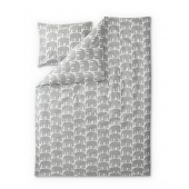 Bed linen Elefantti grey