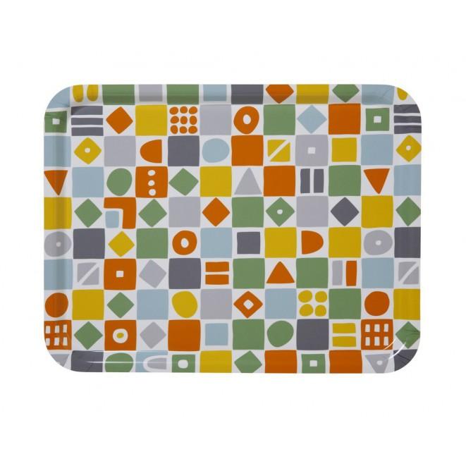 Rectangular tray Mosaic multi