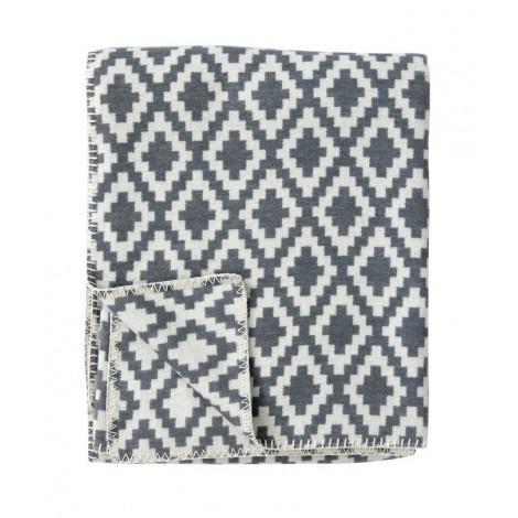 Bavlněná deka Diamonds grey