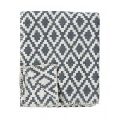 Cotton blanket Diamond grey