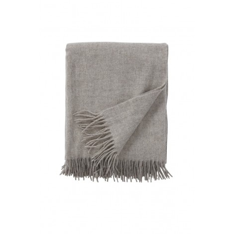 Wool throw Gobi sand  130x180