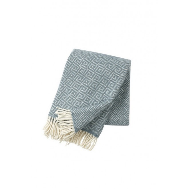 Wool throw Samba lead grey