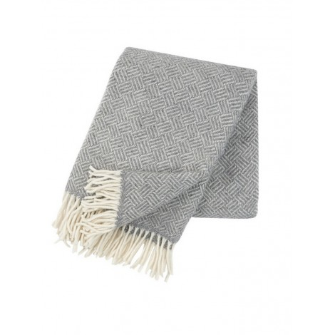 Wool throw Samba grey