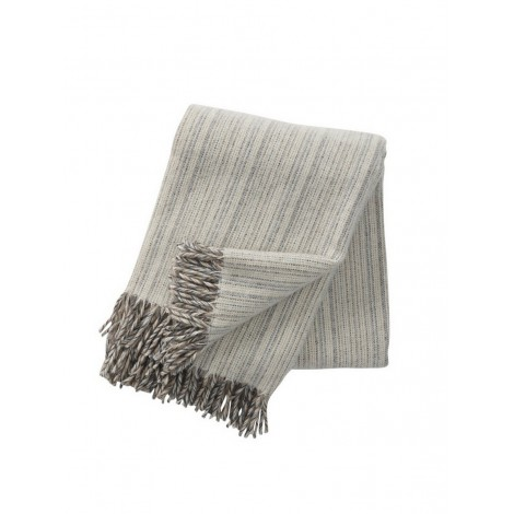 Wool throw Bjork natural