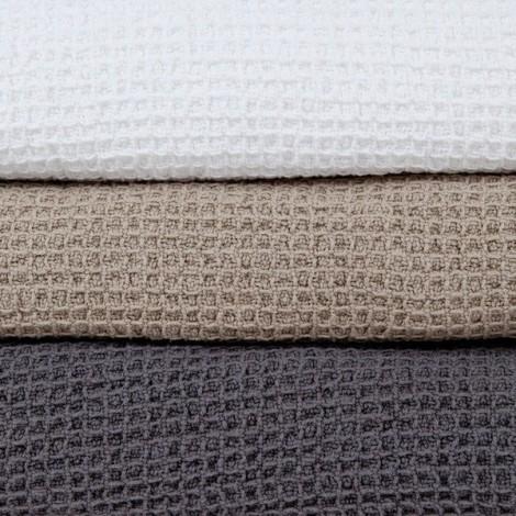Bedspread Waffle dark grey 150x240