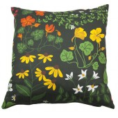 Cushion cover Leksand green