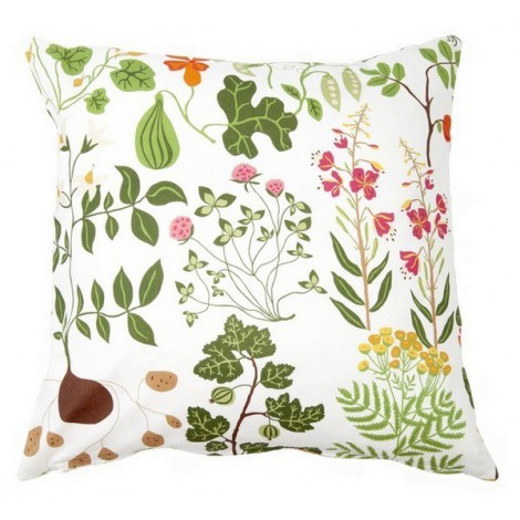 Cushion cover Leksand white