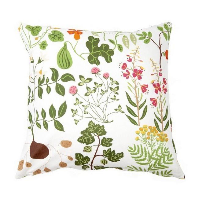 Cushion cover Leksand white