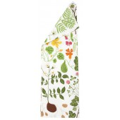 Kitchen towel Leksand white