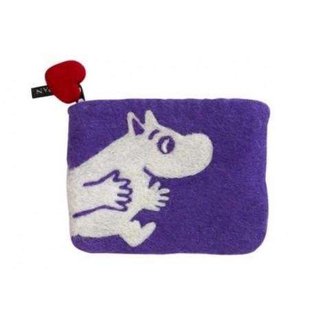 Peněženka Moomin lilac