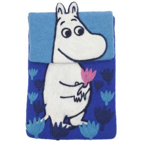 Pouzdro na iPad Moomin blue