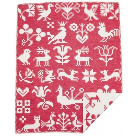 Dětská deka Buddies red 70x90