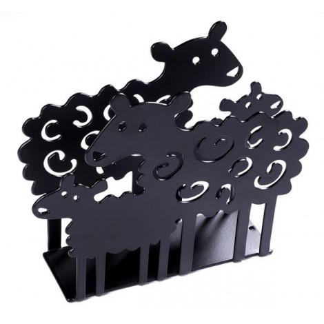 Držák ubrousků Lamb black
