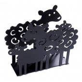 Napkin holders Lamb black