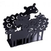 Napkin holders Lamb black