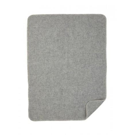 Vlněná dětská deka Soft Wool šedá