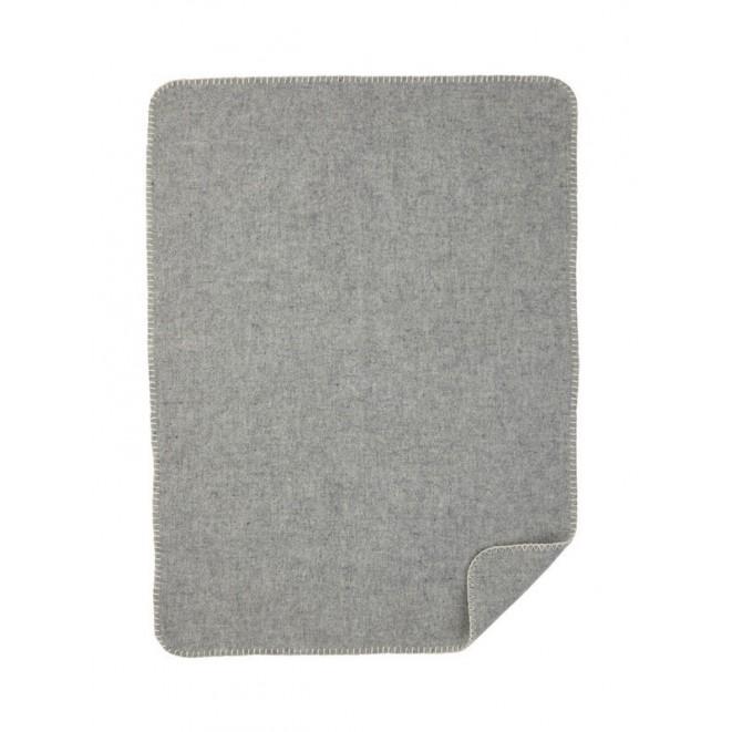 Soft Wool Baby blanket grey
