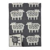 Vlněná deka Sheep grey