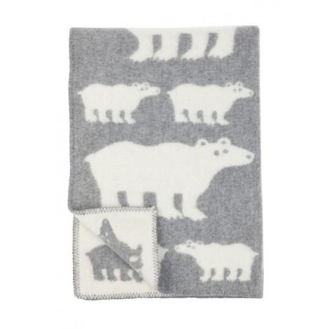 Wool blanket Polar Bear
