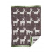Vlněná dětská deka Deer barque