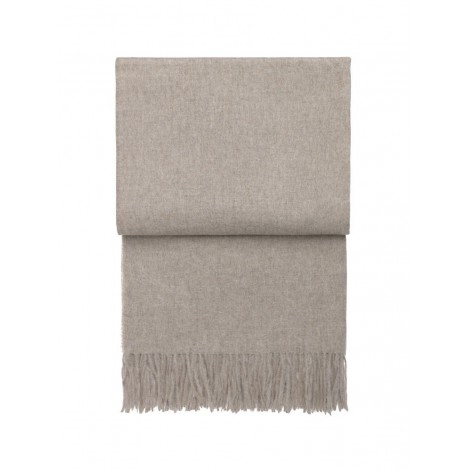Wool throw Classic beige