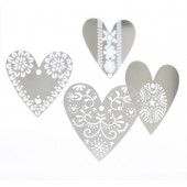 Set of decorations Hearts