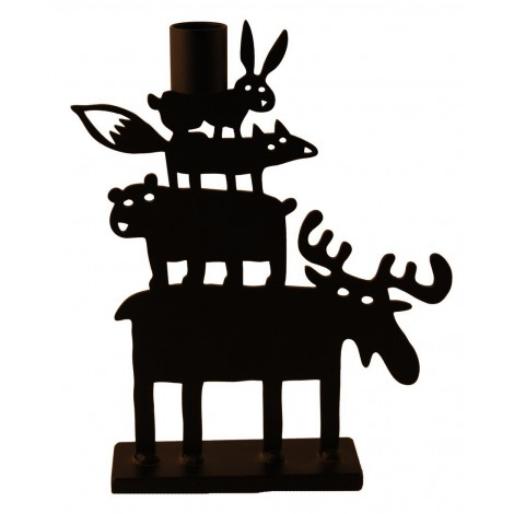 Candle holder Moose Pyramid