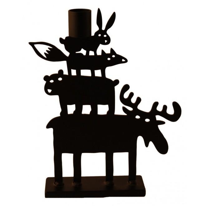 Candle holder Moose Pyramid