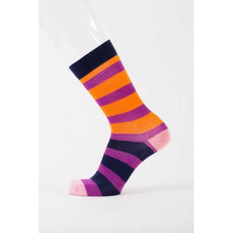 Merino wool socks Flefr plum