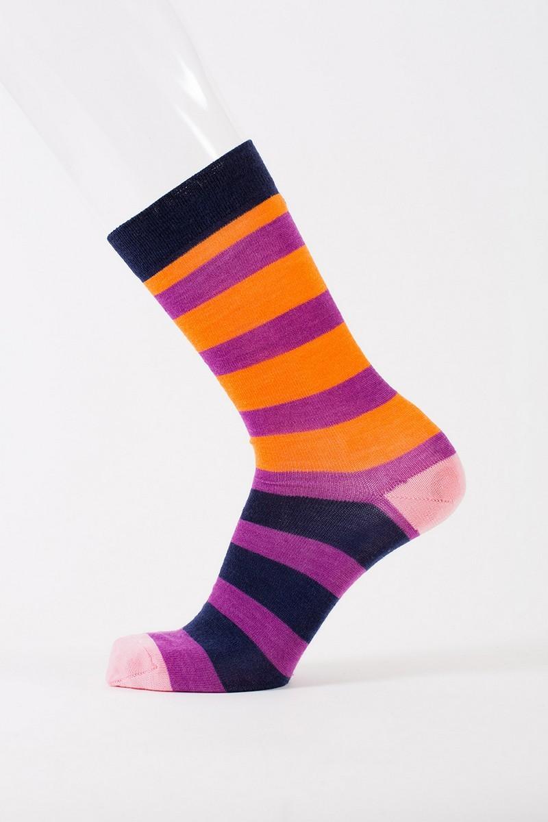 Ponožky z merino vlny Flerf plum - GET INSPIRED 1d3181f724