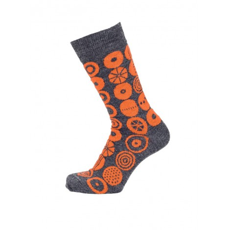 Merino socks Candy orange