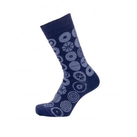 Merino wool socks Candy midnight blue