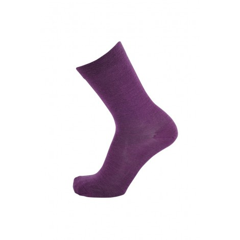 Merino ponožký Tunn plum